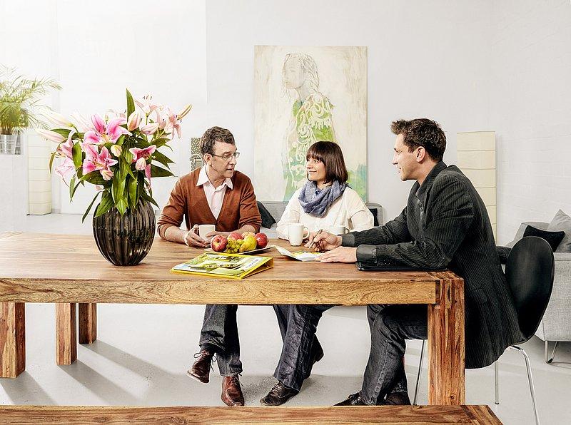 wohnungsbesichtigung unsere umzugsberater kommen gerne und unverbindlich zu einer. Black Bedroom Furniture Sets. Home Design Ideas